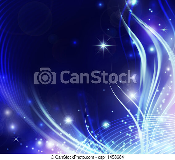 gyönyörű, elvont, fényes, háttér - csp11458684