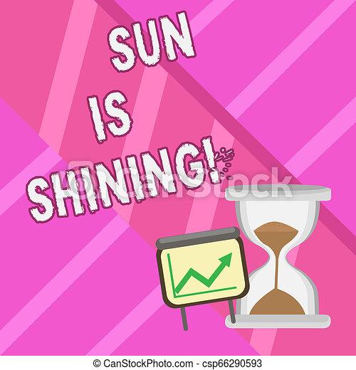 gyönyörű, nyár, fogalom, szó, ügy, parkosít., szöveg, napfény, napok, shining., írás, csípős, nap, természetes, élvez - csp66290593