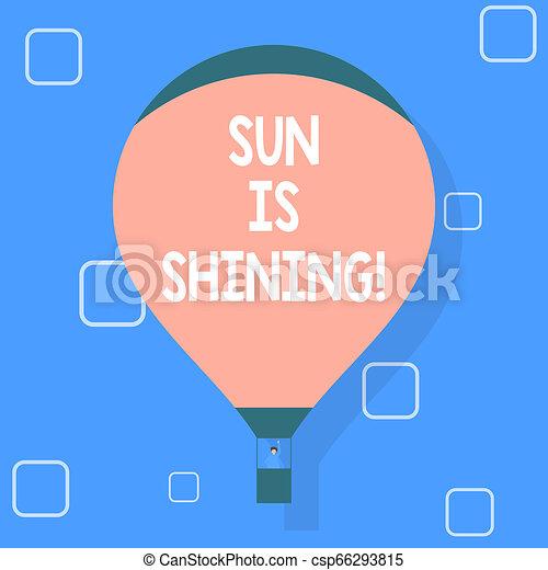 gyönyörű, nyár, természetes, ügy, parkosít., nap, kiállítás, napfény, napok, shining., írás, jegyzet, csípős, fénykép, showcasing, élvez - csp66293815