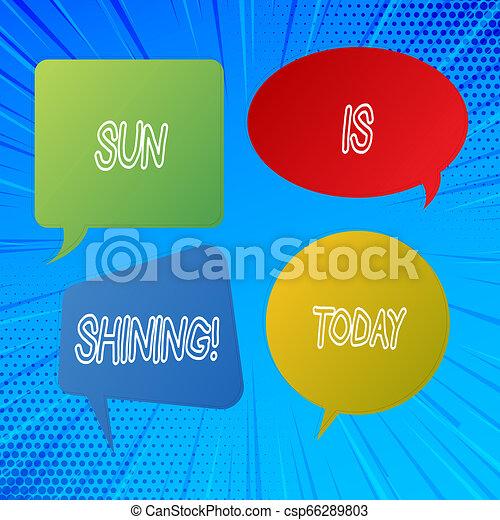 gyönyörű, nyár, természetes, ügy, parkosít., nap, kiállítás, napfény, napok, shining., írás, jegyzet, csípős, fénykép, showcasing, élvez - csp66289803