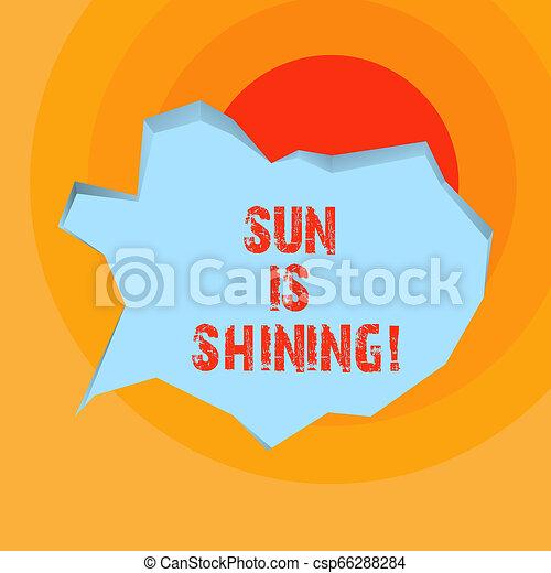 gyönyörű, nyár, természetes, ügy, parkosít., nap, kiállítás, napfény, napok, shining., írás, fogalmi, csípős, kéz, fénykép, showcasing, élvez - csp66288284