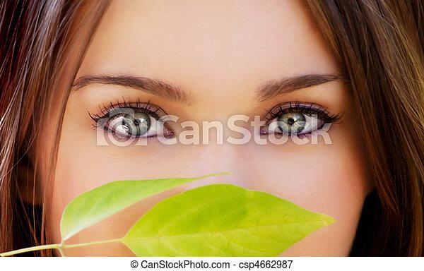 gyönyörű szem - csp4662987