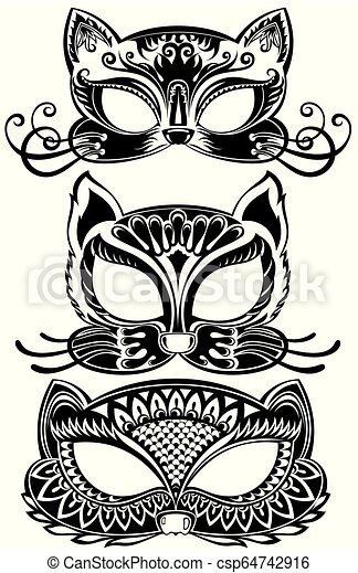 Carnival Face Painting Clip Art