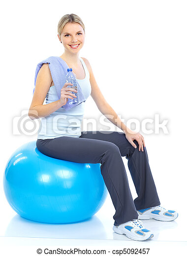 Fitness y gimnasio. - csp5092457