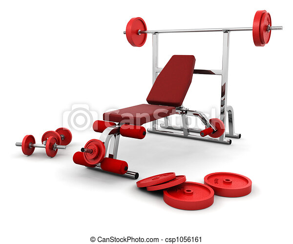 Gym equipment - csp1056161