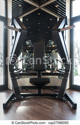Gym Fitness Center Interior - csp37086093