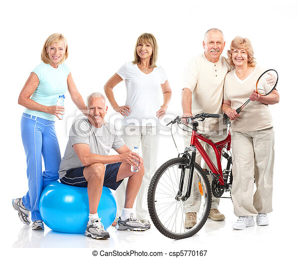 Gym, Fitness, healthy lifestyle - csp5770167