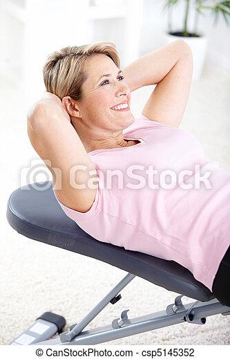 Gym & Fitness - csp5145352
