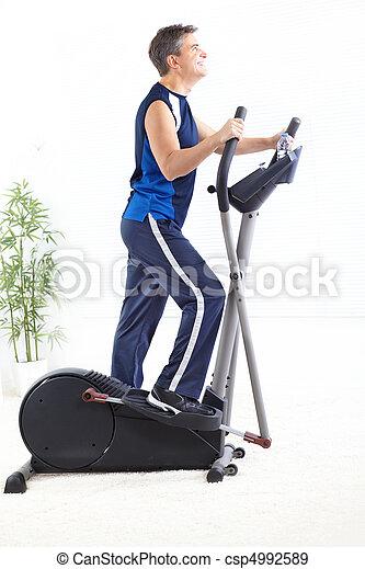 Gym & Fitness - csp4992589