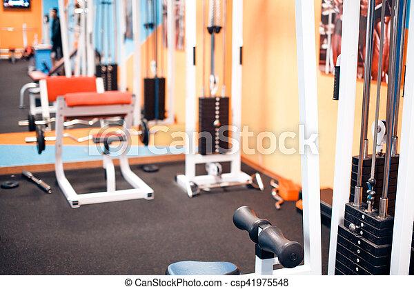 Gym - csp41975548