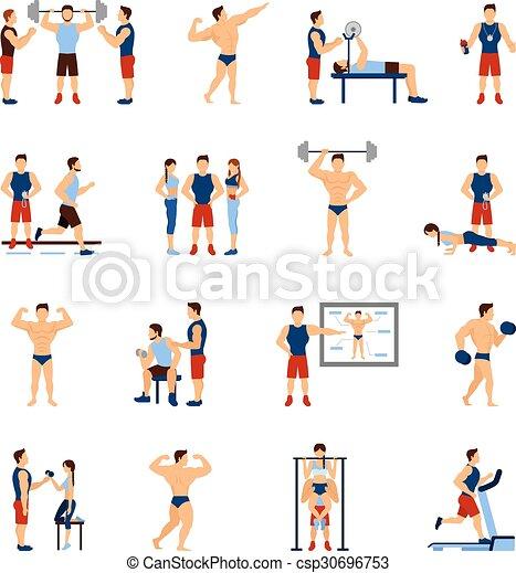 Gym Trainer Set - csp30696753