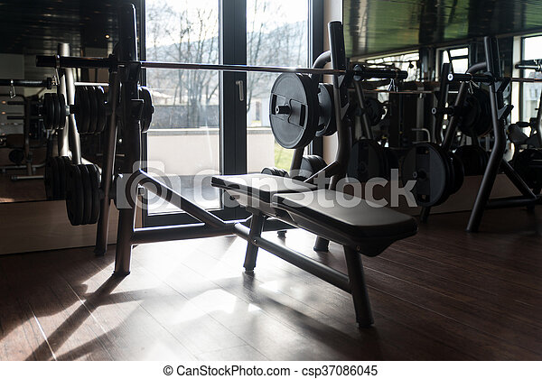 Gym With No People Interior - csp37086045