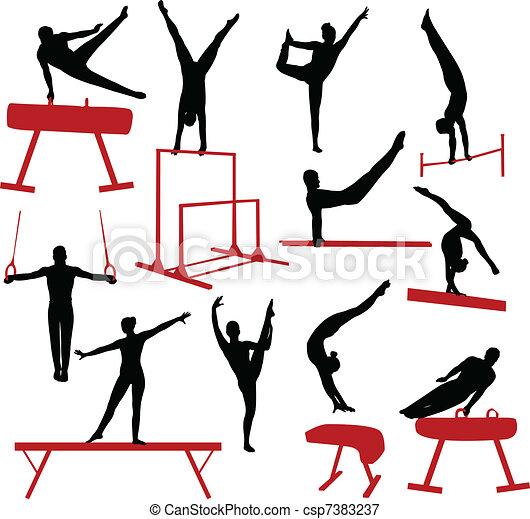 Gymnastics - csp7383237