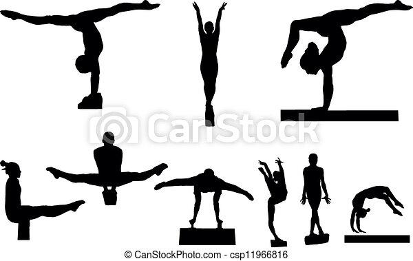 Gymnastique Canstock