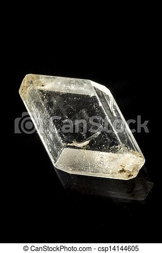 gypse, selenite, minéral, rcok - csp14144605