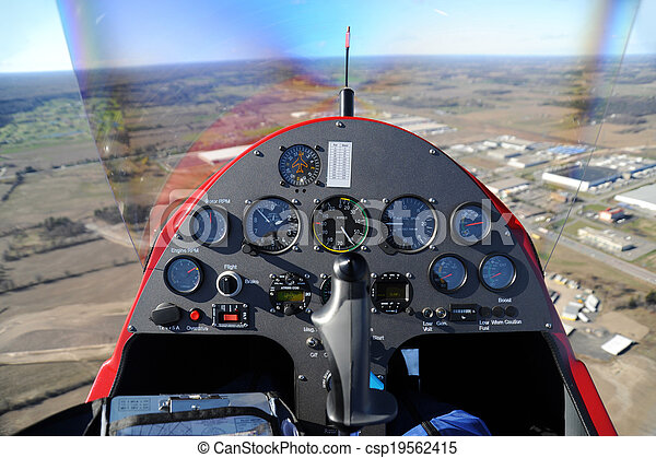 Gyroplane instrument panel - csp19562415