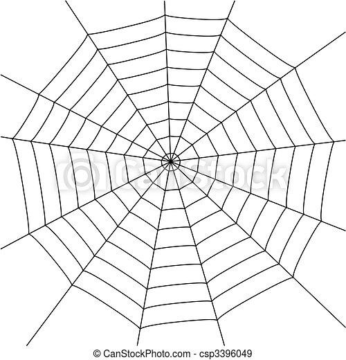 háló, pók - csp3396049