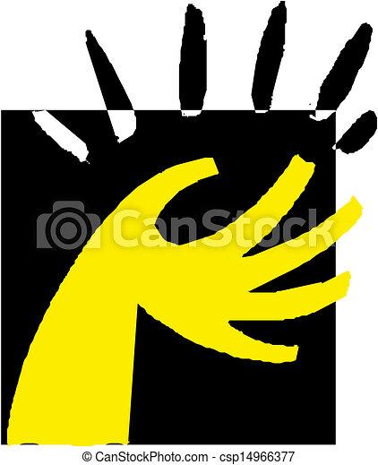 hånd - csp14966377