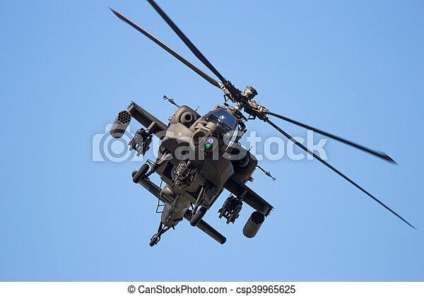 hélicoptère, attaque - csp39965625