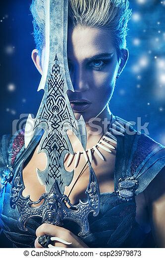 La espada del héroe - csp23979873