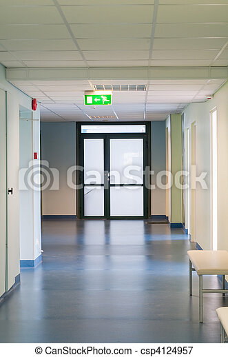 hôpital, salle - csp4124957