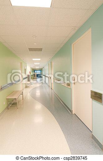 hôpital, salle - csp2839745