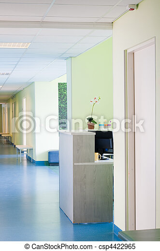 hôpital, salle - csp4422965