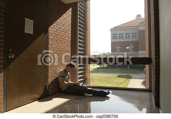 högskola studerande - csp0380700