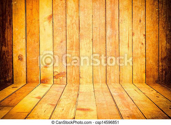 Wooden Hintergrund - csp14596851