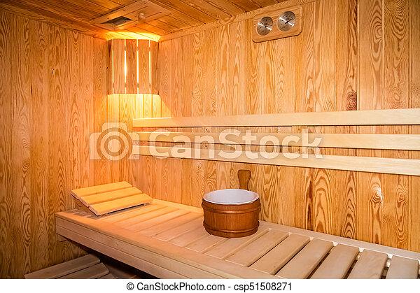Holzern Inneneinrichtung Daheim Bett Sauna
