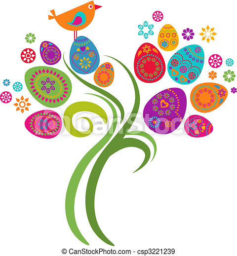 húsvét, fa - csp3221239