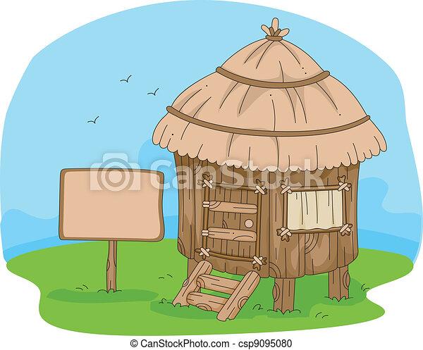 Hut - csp9095080