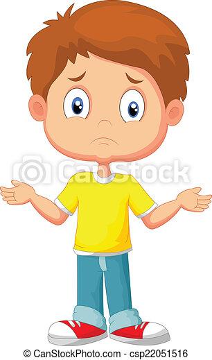 h, faire gestes, jeune, gosse, douteux - csp22051516