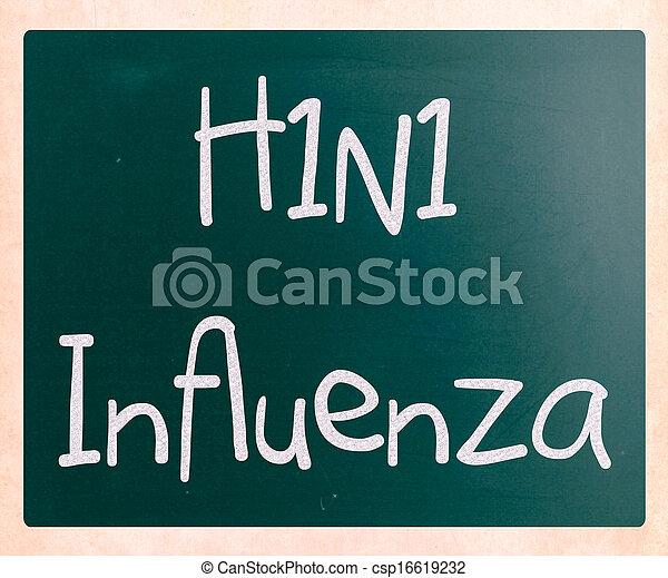 H1N1 Influenza Virus - csp16619232