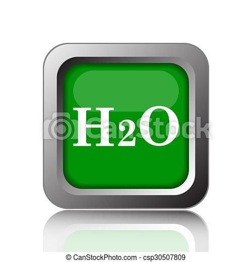 H2O icon - csp30507809
