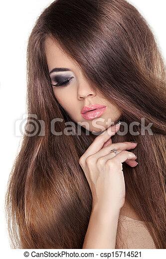 Braune haare mädchen Kostenlose foto