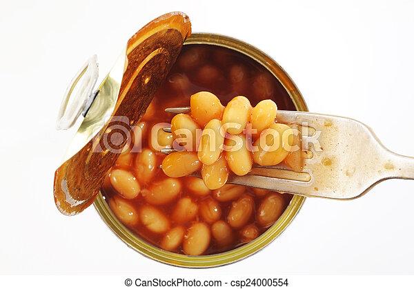 habas cocidas al horno - csp24000554
