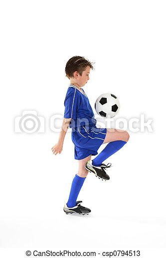Destreza del fútbol - csp0794513