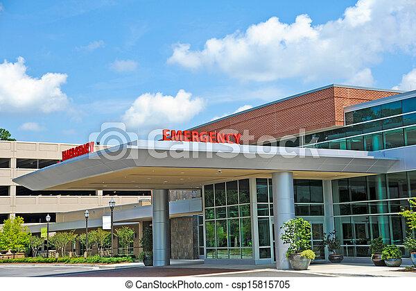 habitación de hospital, emergencia - csp15815705