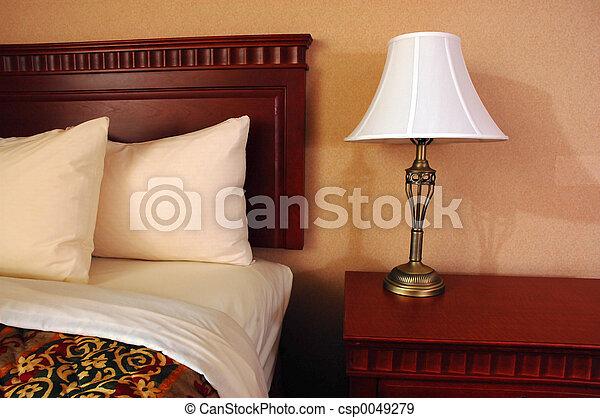 Cuarto del hotel - csp0049279