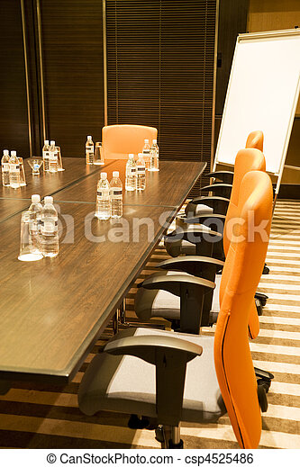 Sala de reuniones moderna - csp4525486