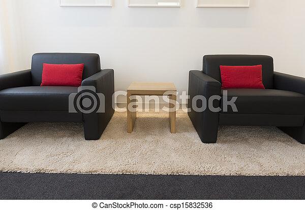 Habitación con muebles - csp15832536