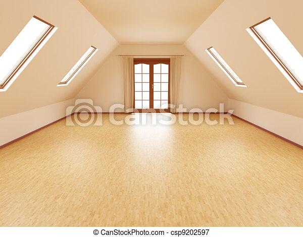Habitación vacía - csp9202597
