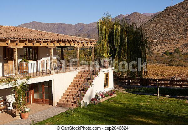 hacienda, 歴史的 - csp20468241