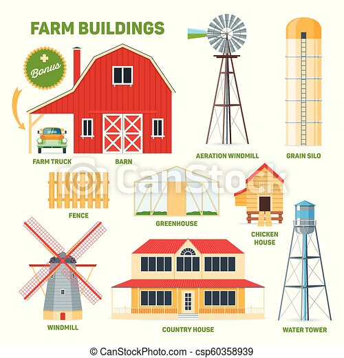 Grainery Clipart and Stock Illustrations 65 Grainery ilustraciones ...