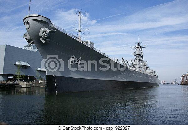 haditengerészet, hajó - csp1922327