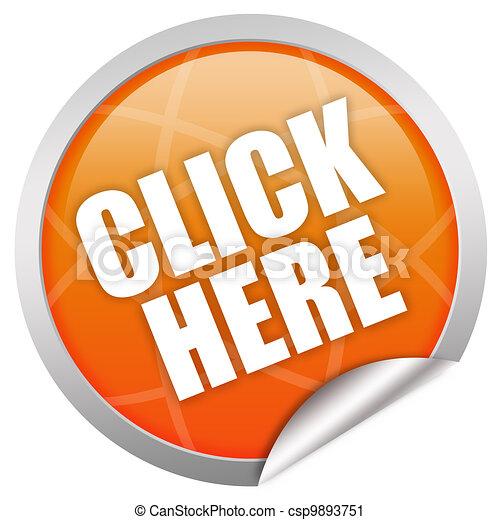 Clic aquí icono - csp9893751