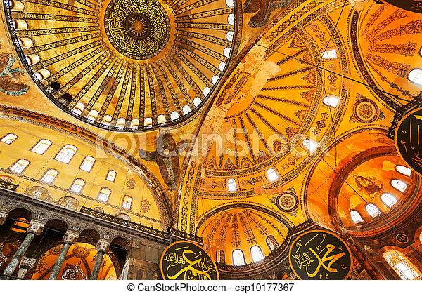 Hagia Sofia Mosque - csp10177367