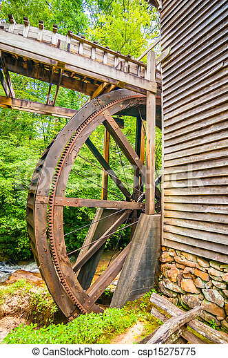Hagood Mill Historic Site in south carolina - csp15275775