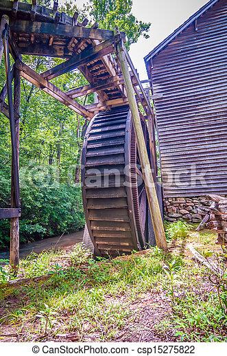 Hagood Mill Historic Site in south carolina - csp15275822